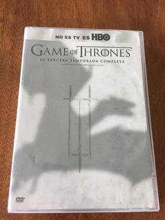 Juego De Tronos Serie Game Of Thrones Original 3a Remporada