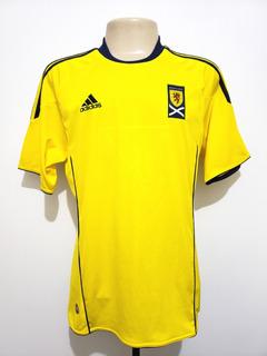 Camisa Oficial Seleção Escócia 2010 Away adidas Tamanho M