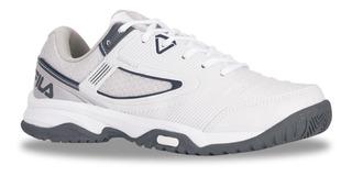 Zapatillas Fila Top Spin 3.0 Tenis Padel Hombre - Olivos
