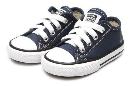 Tênis Infantil Converse Chuck Taylor All Star Border - Azul