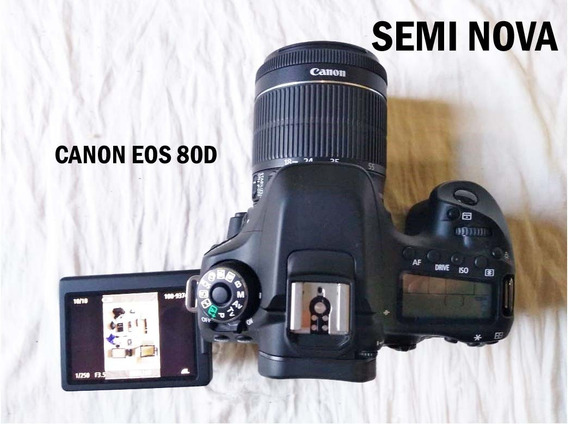 Camera Canon Eos 80d + Brindes