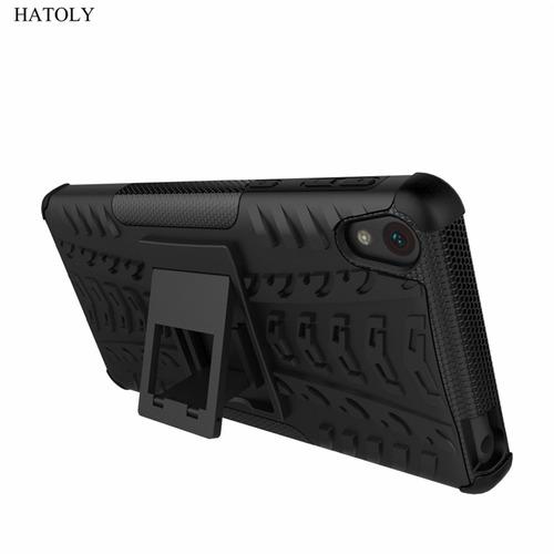 Estuche Forro Sony Xperia E5 Armadura Fuerte Antigolpes