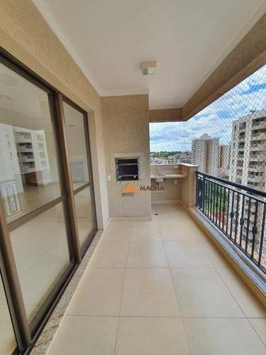 Apartamento, 142 M² - Venda Por R$ 880.000,00 Ou Aluguel Por R$ 3.300,00/mês - Jardim Irajá - Ribeirão Preto/sp - Ap4551