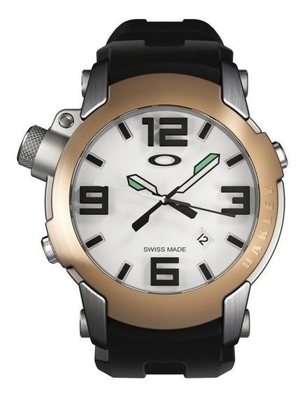 Reloj Oakley Killswitch Ss Gold Bezel De Colección Toys4boys