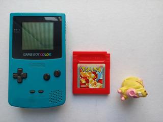 Consola Game Boy Color Teal Turquesa + Pokémon Blue