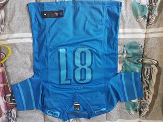 Jersey Detroit Lions,johnson 81 De Coleção, S/uso Tamanho S.