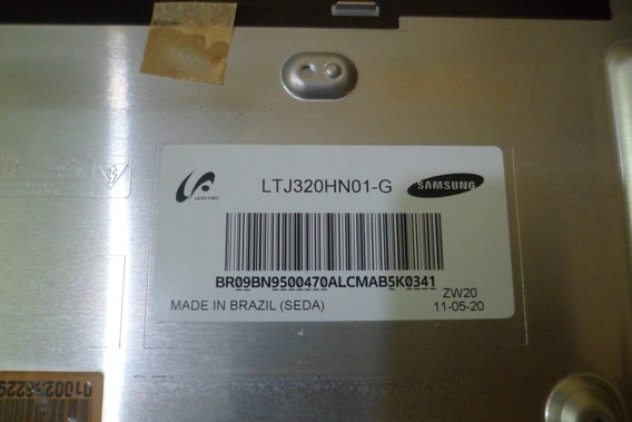 Tela Un32d5000pgxzd Bn64-01632a - Ltj320hn01-g