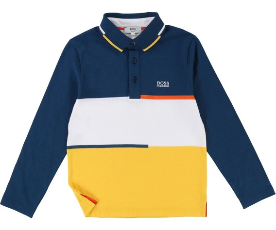 Playera Polo Hugo Boss Para Niño