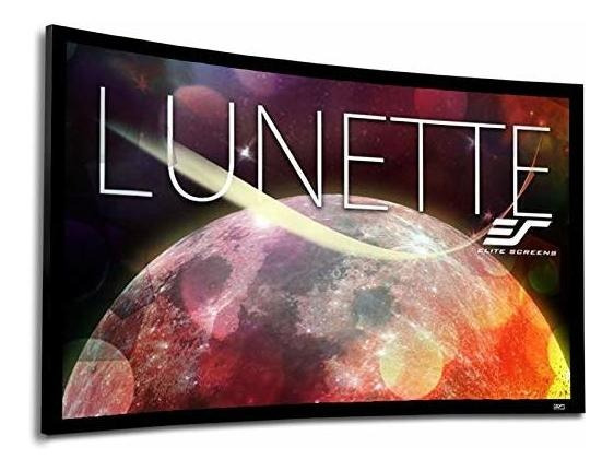 Elite Screens Lunette Series 84-inch Diagonal 169 Sound Tr ®