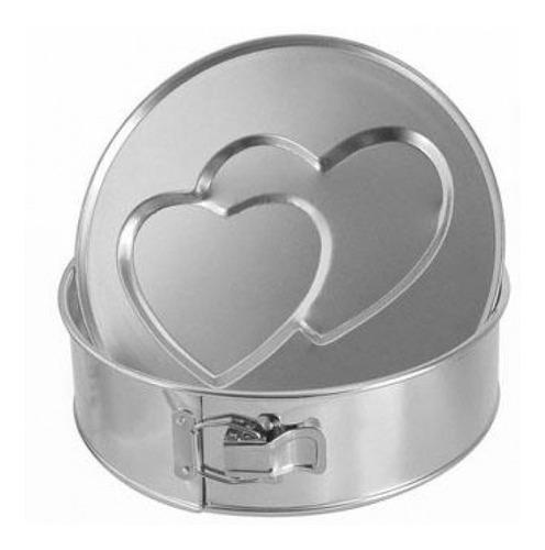 Imagen 1 de 7 de Tortera Desarmable Con Fondo: Doble Corazón /cod.526/20