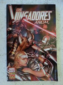 Os Vingadores Anual Nº 3! Panini Set 2011!