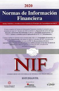 Normas De Información Financiera Estudiantil 2020 Nif