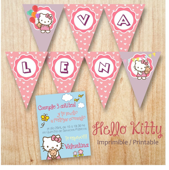 Hello Kitty Kit Imprimible Candy Bar