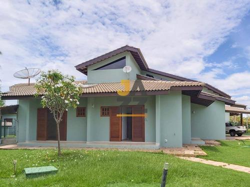 Maravilhosa Chácara Com 5 Dormitórios À Venda, 2500 M² Por R$ 1.800.000 - Colinas Do Mosteiro De Itaici - Indaiatuba/sp - Ch0599