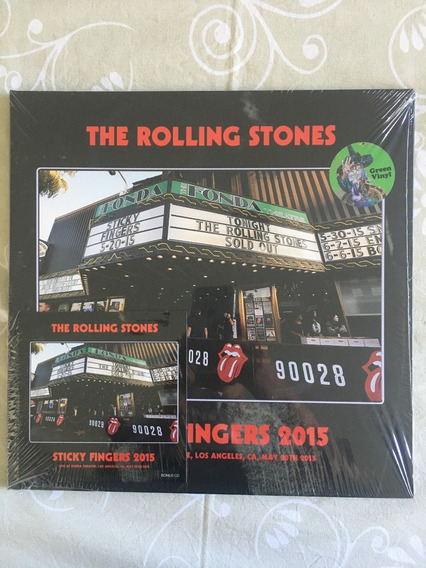 Lp Rolling Stones Sticky Fingers Live 2015 Lp + Cd