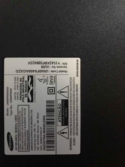 Smart Tv Samsung 6400 Tela Quebrada