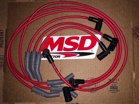 Cables Msd 8.5mm Ford Mustang 2001-2004 V6 3.8l