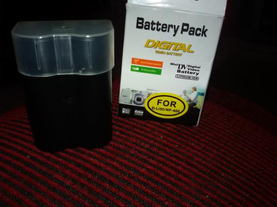 Bateria Câmera D-li50 Nova