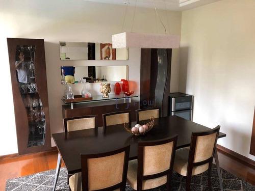 Apartamento Com 4 Dormitórios E 3 Vagas De Garagem - Chácara Klabin - Ap11043