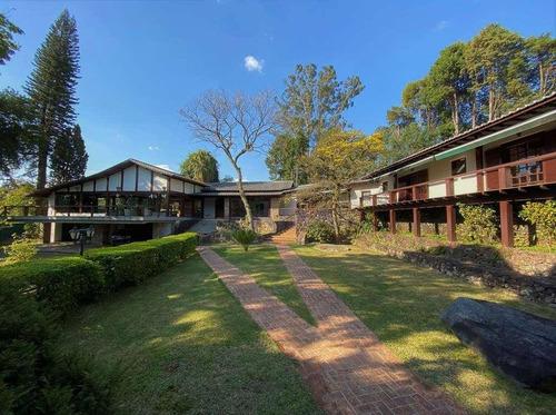 Casa Com 6 Dormitórios À Venda, 1374 M² Por R$ 8.400.000,00 - Jardim Mediterrâneo - Cotia/sp - Ca1805