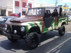 F 75 4x4 Chassi Longo Militar Whats 19-974188644