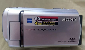 Filmadora Novissima - Sony Dcr-sx40 - + Brinde (sacola)