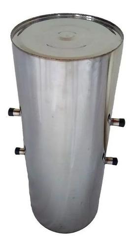Imagem 1 de 1 de Cilindro Para Fogão A Lenha Inox 3/4 Chapa 18 60lts 80x32cm