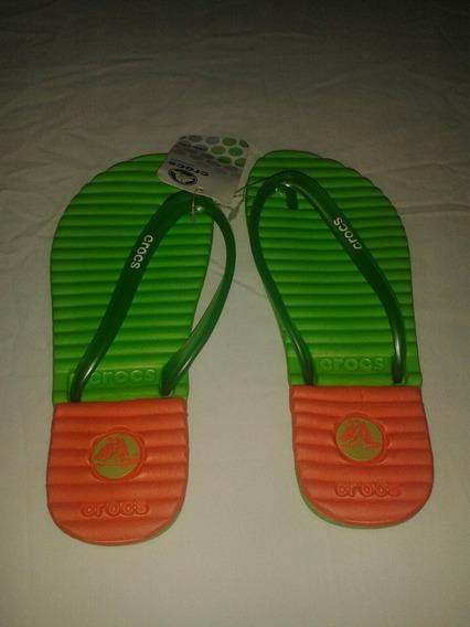 Cholas Para Dama Crocs Talla 35