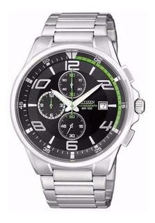 Reloj Hombre Citizen, Acero Cronometro Wr100m