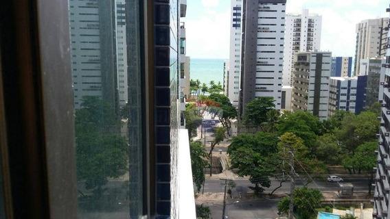 1quarto, Andar Alto E Vista Mar - Setúbal - Recife/pe - Ap0272
