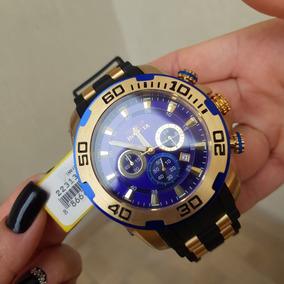Relógio Invicta Pro Diver 22313 Original B. 18k Pul.borracha