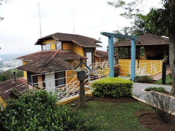 Casa Rústica, Muito Confortável Em Condomínio De Alto Padrão - 177