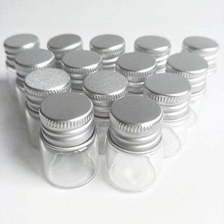 20pcs Muestra Viales Botellas De Vidrio Transparente Con Tar