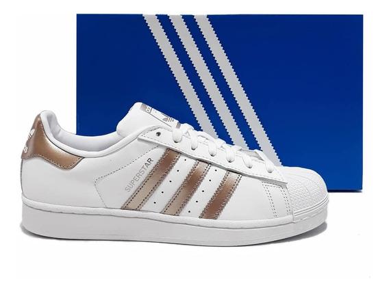 Tênis adidas Superstar Sneakers Branco Original