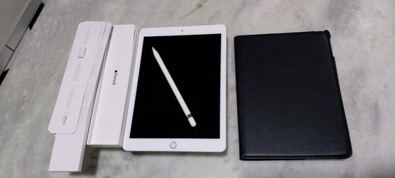 iPad 6 + Pensil 128gb Pouquíssima Horas De Uso