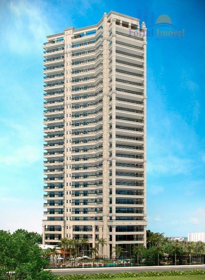 Apartamento Com 4 Dormitórios À Venda, 344 M² Por R$ 3.966.341,28 - Cocó - Fortaleza/ce - Ap0238