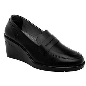Zapatos Oxford Casual Niñas Negro Zoe Piel Udt 69908
