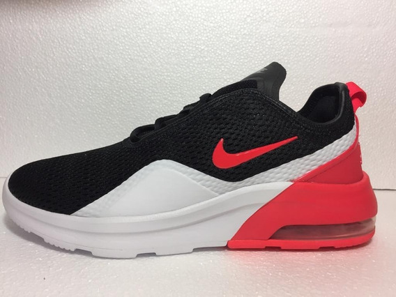 Tenis Nike Air Max Motion 2 Black Red