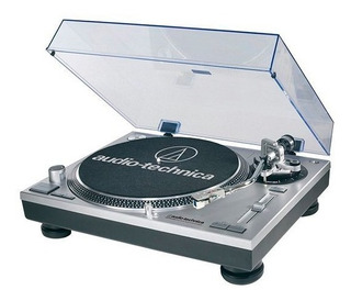 Bandeja Tocadiscos Audio Technica Lp120 Gris O Negra - Usb