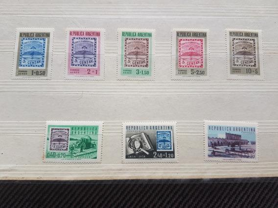 Argentina : Serie Completa Mint Eficon ( Gj 1093/1100) 1958