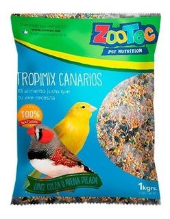 Alimento Para Canarios Tropimix X 1 Kg