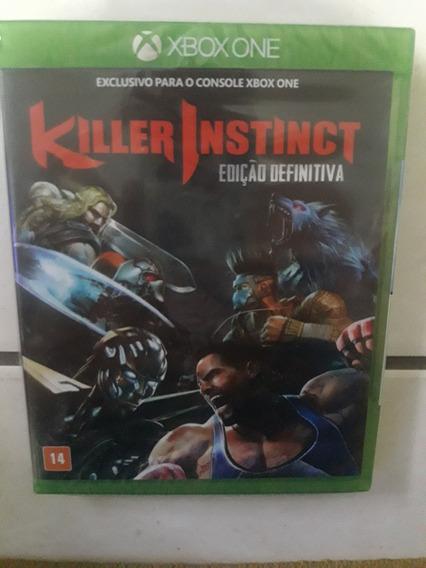 Killer Instinct Edição Definitiva Mídia Física Xbox One Live