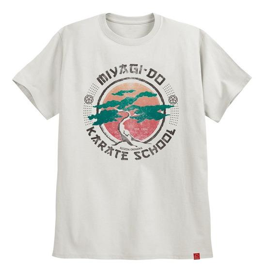 Camiseta Árvore Série Cobra Kai Camisa Miyagi Do Karatê Kid