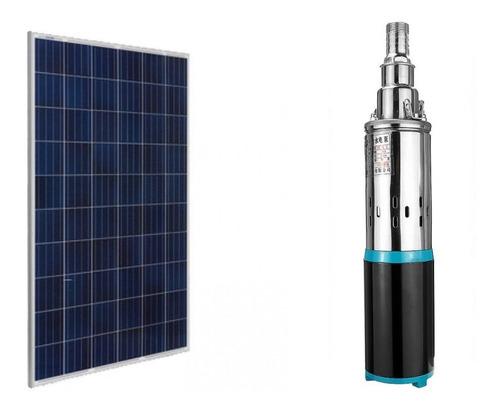 Kit Painel Placa Solar 280w + Bomba 24v 180w 40 Metros