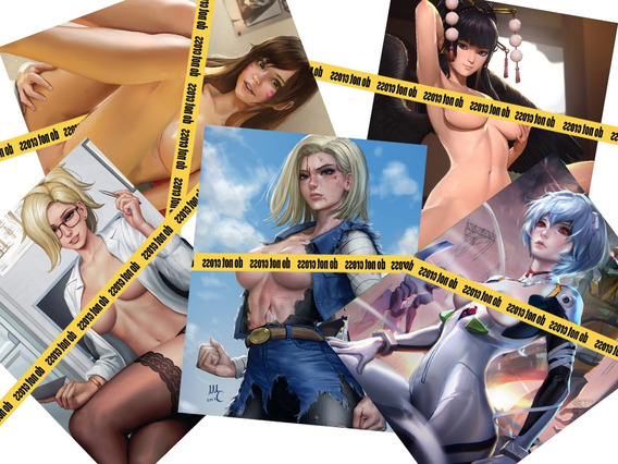 Posters Anime Hentai Set De 15 Posters A4