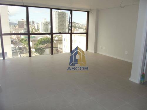 Imagem 1 de 16 de Sala Para Alugar, 31 M² - Estreito - Florianópolis/sc - Sa0220