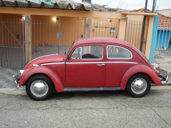 Volkswagen Fusca 69 1300 Vermelho Cereja - Muito Original!!!
