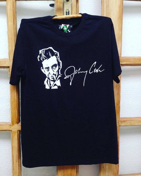 Camiseta - Baby Look Johnny Cash