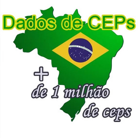 Banco De Ceps, Estado, Cidades, Bairros E Ruas Jun/19 Sql
