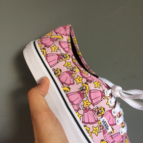 Vans Authentic Nintendo Peach 100% Original